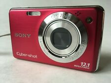 Sony Cyber-shot DSC-W230 12.1MP Digital Camera Zeiss 4x IS Zoom f/2.8 30-120mm