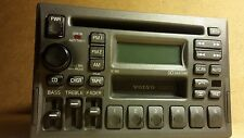 1998-00 volvo v70 s70 v70xc v40 OEM CD cassette player radio w/ code 3533771-1