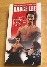 BRUCE LEE - JEET KUNE DO (VHS) MARTIAL ARTS INSTRUCTION HTF Rare Training
