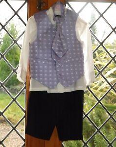 Device, boys formal 4 piece suit, age 18 months