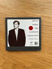 Minidisc BRYAN FERRY with roxy music/The Ultimate Collection album pas de boitie