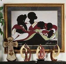 """African American Woven Tapestry Art """"THE COVERING"""" by Andre Thompson"""