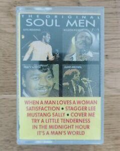The original soul men various artists James Brown otis Redding cassette tape