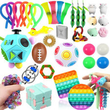 Fidget Toys Set Sensory Toy Pack For ADHD Stress Relief Anti-Anxiety Kids Adults