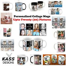 Personalised Mug Custom Collage Photo Mug Tea Coffee Cup Pictures Christmas Xmas