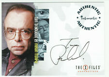 X-Files Connections Autograph Card A-7 Tom Braidwood as Melvin Frohike Auto A7