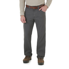 WRANGLER Riggs Workwear Relaxed Fit Technician Charcoal Pants Mens 32x30 3WO45CH
