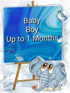 Baby Boy Clothes Make Your Own Bundle Size New Born Tiny Baby up to 1 Months