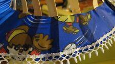 Vintage 1960s Folding Bamboo Fan Hat Tiki Oasis Pinup 60s Japanese baseball Nos