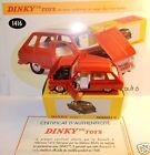 DINKY TOYS ATLAS RENAULT 6 R6 1968 ROUGE 1/43 REF 1416 IN BOX