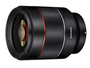 Samyang AF 50mm F1.4 High Speed Lens for Sony E Mount - SYIO50AF-E
