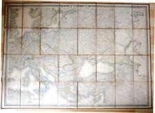 Carte ancienne. Théâtre de la guerre en Orient. 1854. Russie. Guerre de Crimée