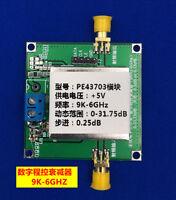 PE43703 Digital Programmable Step Attenuator Module 9K~6GHz 0.25dB to 31.75dB