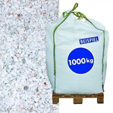 (0,29€/1kg) 1000 kg Big Bag Marmorsplitt Carrara 5-8 mm Kies Marmor Gestaltung G