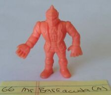 MATTEL M.U.S.C.L.E. MEN KINNIKUMAN ORANGE SALMON MUSCLE MAN #066 MR BARRACUDA A