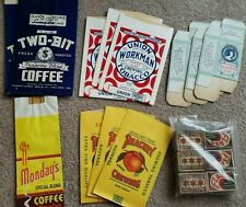 Vintage Grocery Packaging tobacco and Safety Matches