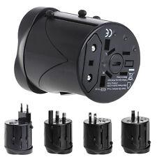 Universal International Travel AC Adapter For Power Outlet Plug UK US AU Europe