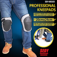 Safety Leg Knee Pads Protection Sleeve Vecro Working Wide Kneepads Comfortable