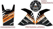 STICKER KIT GEL 3D SCHUTZ TANK kompatibel für Motorrad KTM 1190 ADVENTURE