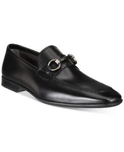 Massimo Emporio By Magnanni 250469 Mens Leather Loafer Black Size 7 Medium