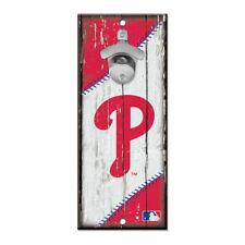 MLB Philadelphia Phillies Bottle Opener Wood Sign Holzschild Holz Wandschmuck