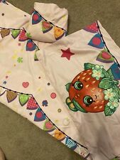Shopkins Twin Size Sheet Set And Pillow Case