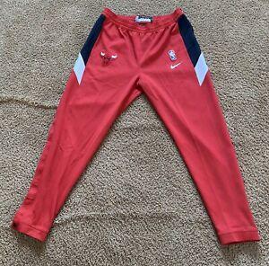 Nike Chicago Bulls Showtime Therma Flex Tear Away Pants Size XL Tall AV0836-657