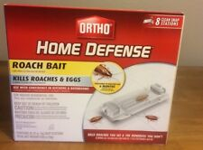 Ortho Home Defense Roach Bait - 8 Clean Snap Stations--New in Box