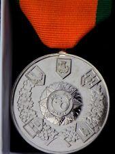 F.C.A. and Slua Muiri Stand Down Medal, with box