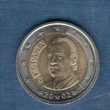 Pièces euro d'Espagne pour 2 Euro année 2002