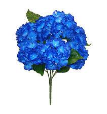 "25"" Soft Hydrangea Bouquet ~ MANY COLORS ~ Centerpieces Silk Wedding Flowers"