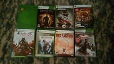 9 Xbox 360 games Deus Ex Splinter Cell LEGO Assassin's Creed Red Faction Madden