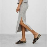 "Wilfred Free ""Shields"" Skirt NWT size Small Heather Black Reposa Aritzia Babaton"