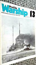 PROFILE WARSHIP #13: HMS EXETER: HEAVY CRUISER 1929-1941 (1971)