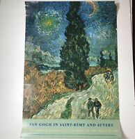VAN GOGH IN SAINT-REMY AND AUVERS METROPOLITAN MUSEUM OF ART POSTER 1986-1987