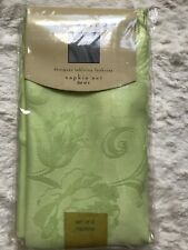 New Newbridge Napkin Set Of 4, Light Green Floral, Polyester