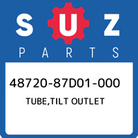 48720-87D01-000 Suzuki Tube,tilt outlet 4872087D01000, New Genuine OEM Part
