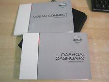 NISSAN QASHQAI, +2 OWNERS HANDBOOK 2007-2010  inc connect sat nav ref M78