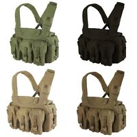 Condor CR 7 Pocket Multi-Purpose Rifle Magazine Pouch Tactical Utility Chest Rig