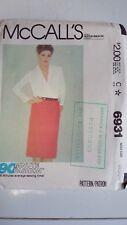 Vintage McCALL'S Misses Skirt Pattern Sewing Dressmaking Medium