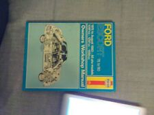 Collectors Owners Car Manual TALBOT, FORD ESCORT,TRIUMPH SPITFIRE & MANY MORE