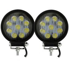 Safego 2X 27W LED Work Light Flood Beam Truck Off-Road Fog Driving 4X4 Tractor