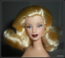 NUDE BARBIE MATTEL  HOLLYWOOD CAST PARTY BLONDE GREY EYES MACKIE DOLL FOR OOAK