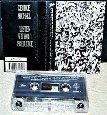 GEORGE MICHAEL    - LISTEN WITHOUT PREJUDICE Vol 1 -               Cassette Tape