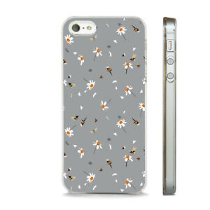 DAISIES BEES DRAGONFLIES PRINT    PHONE CASE COVER FITS All APPLE IPHONE MODELS