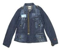 Firetrap Womens Size L Denim Blue Jacket