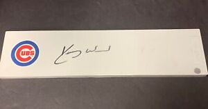 Kerry Wood Chicago Cubs Autographed Signed Pitching Rubber Plate