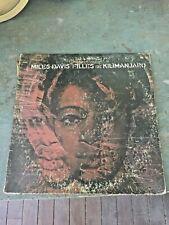 Miles Davis LP Filles De Kilimanjaro 1968 Columbia 9750