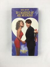 So I Married an Axe Murderer VHS 1994 Mike Myers Comedy Cult Classic