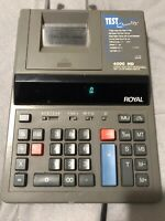 Royal 4000HD Adding Machine Electronic Printing Calculator - Tested & Works